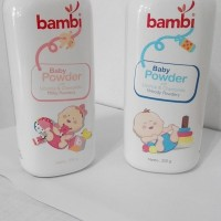Bambi Baby Powder ( Bedak Bayi ) 50 gr Licorice & Camomile