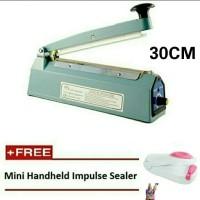 Alat Press Plastik Impulse sealer 30cm Free Hand Sealer Mini