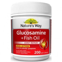 (Sale) Natures Way Glucosamine + Fish Oil - 200 caps