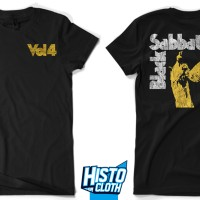 Kaos Band Metal Black Sabbath Vol4 - BS33 FNB