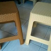 Khusus Gosend-Kursi Bakso /Kursi Rotan plastik / kursi cafe