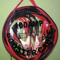 KABEL JUMPER AKI MOBIL 100A -BOOSTER CABLE 100A