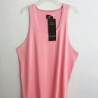 Kaos Singlet Pink polos