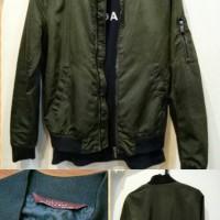 Zara Man Bomber Jacket (olive green)