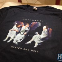 Kaos Band Metal Black Sabbath Heaven and Hell - BS32