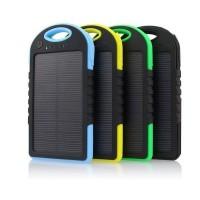 Power Bank Solar Cell Charger/ Pengisi Daya Tenaga Surya