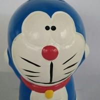 Celengan Tanah Liat Doraemon Mainan Murah Boneka Murah