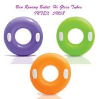 Intex 59258 Hi Gloss Tubes 76cm / Pelampung Renang Bulat with Handle