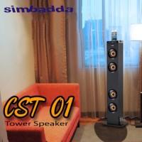 ORIGINAL - Simbadda Speaker CST 01 Tower (Blutooth, USB, SD
