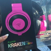 ORIGINAL - Headset Gaming Razer Kraken Pro Neon Series ( Purple )