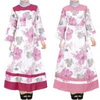 Gamis / Dress Bahan Katun Jepang All Size Fit L