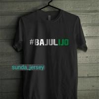 Kaos Tshirt Baju Combed 30S Distro #bajulijo PErsebaya Surabaya Bajul