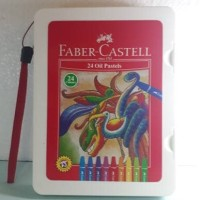 Crayon / Oil Pastel Faber-Castell 24 Warna Bag