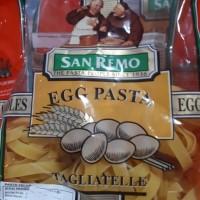 Tagliatelle Egg Pasta San Remo 250gr