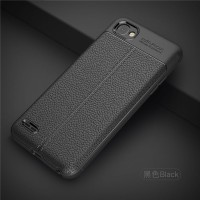 CASING CASE SOFT BACK COVER LEATHER LG Q6, Q6 SILICON KULIT ARMOR