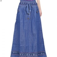 Rok Jeans Anak / rok panjang anak / rok anak / rok anak perempuan 222