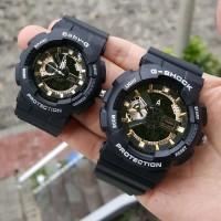 Jam Tangan Pria Wanita Couple G Shock GA 110 Kw Premium Black RG