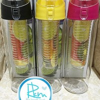 Promo Baru Generasi 2 Tritan Bottle Bpa Free With Fruit / Infused