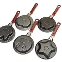Promo Baru Mini Frying Pan Wajan Motif Lucu