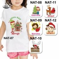 Kaos Natal / Kaos Anak Natal / Kaos Bayi Natal