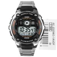 Jam tangan Casio AE 2000 WD / AE-2000 WD cowok/ pria original