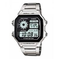 Jam tangan Casio AE 1200 WHD / AE-1200 WHD pria/cowok original