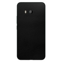 9Skin - Premium Skin Protector for HTC U11 - 3M Black Leather