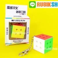 RUBIK 3x3 : MOYU MF MINI KEYCHAIN 3.5CM / GANTUNGAN KUNCI