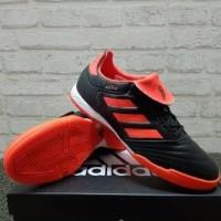 Sepatu Futsal Adidas Copa Tango 17.3 Black Orange S77148 Original