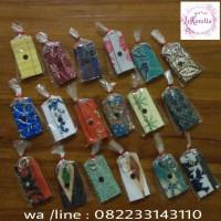souvenir ganci dompet batik boleh beli sedikit