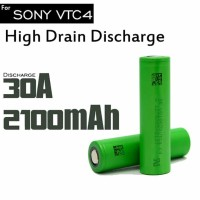Authentic Sony VTC4 battery 18650 30A 2100mAh