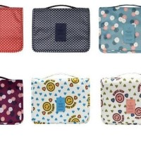 Baru Korea Travel Hanging / Gantung Toiletry Kosmetik Pouch Bag