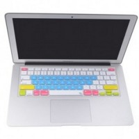 Candy Color Silicone Keyboard Cover Protector Skin for Macbook Pro 17