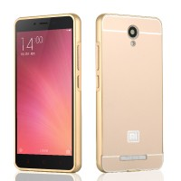 Bumper Case Xiaomi Metal Mirror Model iPhone Untuk Semua Type Xiaomi