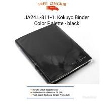 JA24. L-311-1 KOKUYO BINDER COLOR PALETTE- B5 - 26 rings- black