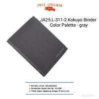 JA25. L-311-2 KOKUYO BINDER COLOR PALETTE- B5 - 26 rings- gray