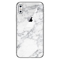 9Skin - Premium Skin Case iPhone X - 3M White Marble