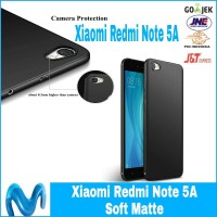 CASE XIAOMI REDMI NOTE 5A CASING COVER BLACK