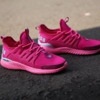 Sepatu Sneakers/Running Adidas Alphabounce Women Pink Premium, ready!