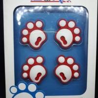 Door Guard Isoka Foot Bear / Door Guard Isoka Kaki Beruang /Isoka Bear