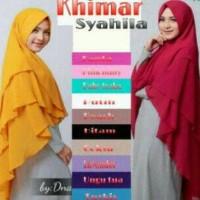 Best Seller Hijab Jilbab Kerudung Khimar Pet Syahila Limited