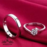 cincin kawin palladium dan emas putih
