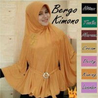 TERLARIS!! Jilbab/Hijab/Kerudung Bergo Kimono Instant