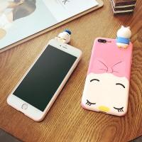 CASE 3D BABY DISNEY SLEEP CUTE SOFT IPHONE 7/ 7 PLUS/ 8/ 8 + CASING