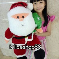 boneka santa claus import besar limited edition