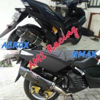 Knalpot Racing Yoshimura R77 Carbon Yamaha NMAX Abs AEROX R 155 Fulset