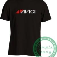 Kaos Tshirt Baju Combed 30S Distro DJ EDM Avicii