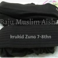 Kerudung Anak Jilbab Instan Zuna 7-8thn Ready Coklat Rabbani kids best