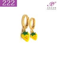 Anting Anak Lapis emas Perhiasan imitasi Gold 18k Yaxiya Jewelry 222