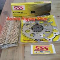 Gear Set SSS 428 Jupiter Z - New MX - RX King - F1ZR & Rantai SB